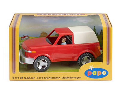 Obrázok Terénní auto s řidičem