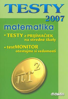 Obrázok TESTY 2007 matematika