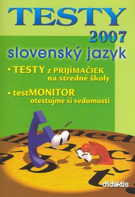Obrázok TESTY 2007 slovenský jazyk