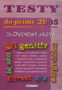Obrázok Testy do prímy 2005 slovenský jazyk