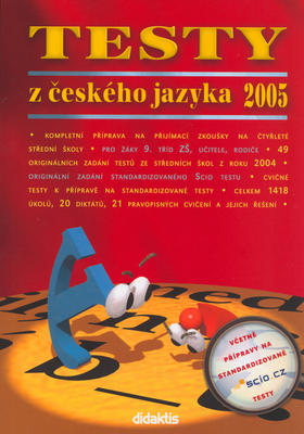 Obrázok Testy z českého jazyka 2005