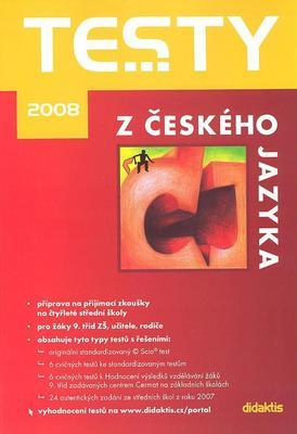 Obrázok Testy z českého jazyka 2008
