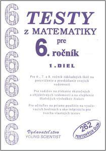 Obrázok Testy z matematiky pre 6.ročník