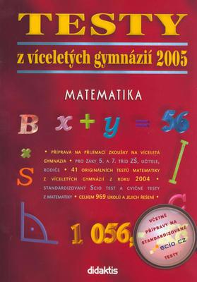 Obrázok Testy z víceletých gymnázií 2005