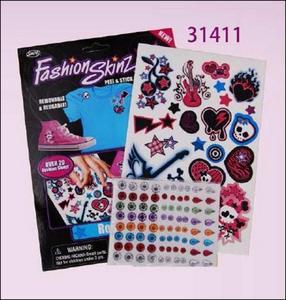 Obrázok Tetování Fashion Skinz Pink 1+80