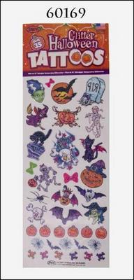 Obrázok Tetování Halloween závěs