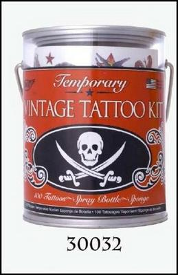 Obrázok Tetování plechovka lebky