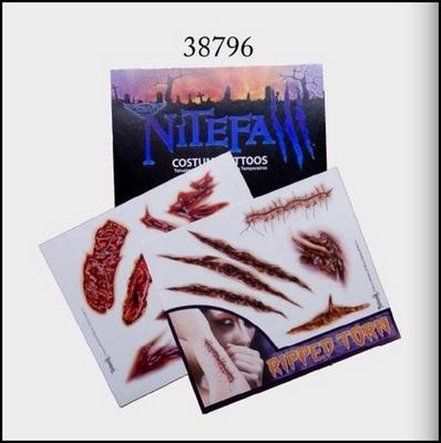 Obrázok Tetování závěs karneval NItefa