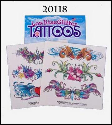 Obrázok Tetování závěs květy