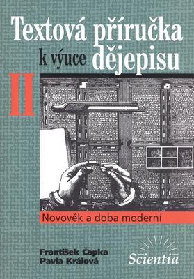 Obrázok Textová příručka k výuce dějepisu II.