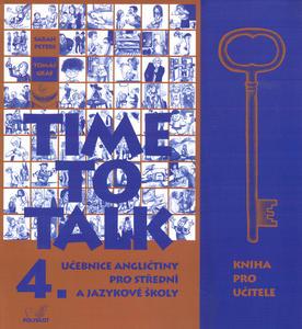 Obrázok Time to Talk 4. Kniha pro učitele