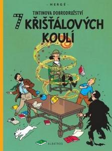 Obrázok Tintinova dobrodružství 7 křišťálových koulí
