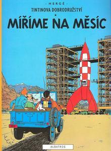 Obrázok Tintinova dobrodružství Míříme na Měsíc