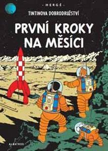 Obrázok Tintinova dobrodružství První kroky na Měsíci