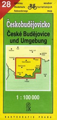 TM 28 Českobudějovicko 1:100T