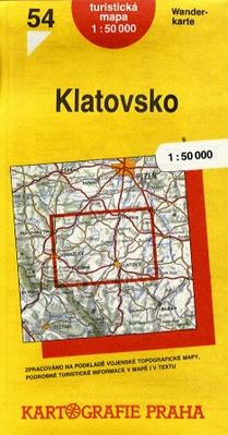TM 54 Klatovsko 1:50 000