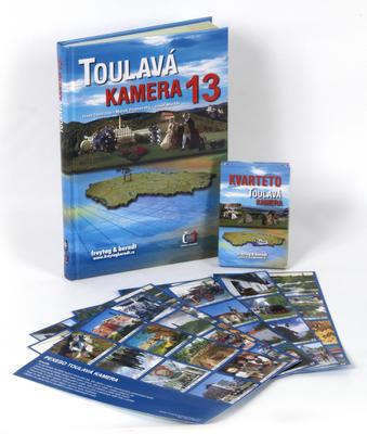 Obrázok Toulavá kamera 13 + pexeso + karty kvarteto