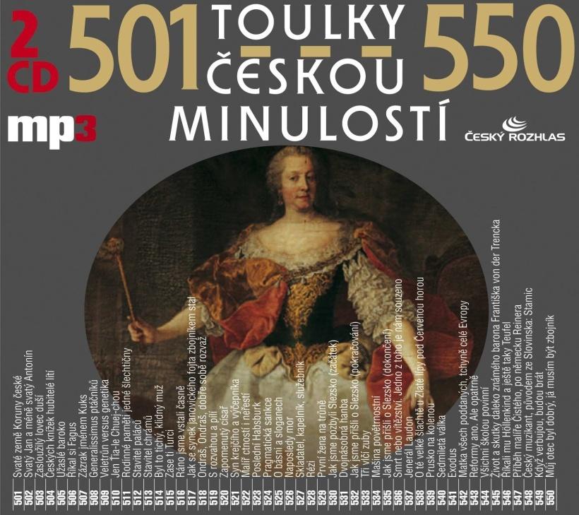 Toulky českou minulostí 501-550 - Josef Veselý
