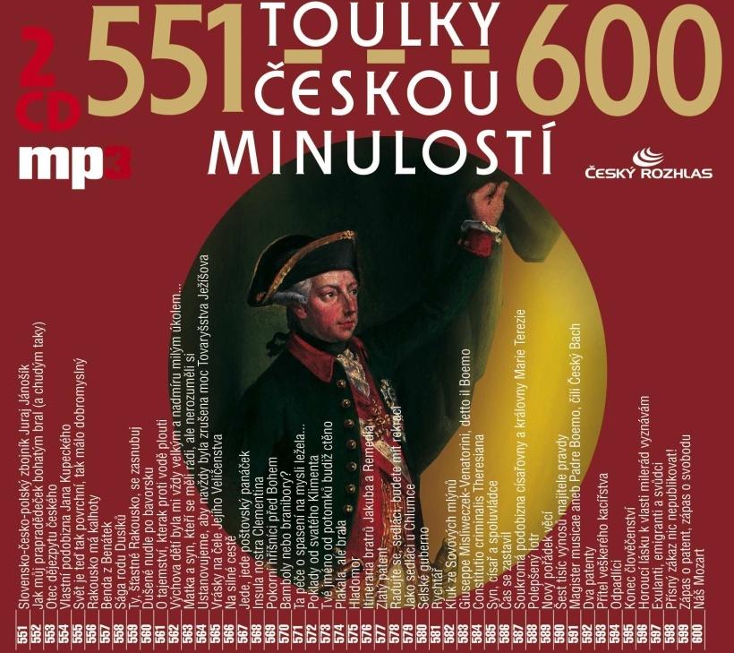Toulky českou minulostí 551-600 - Josef Veselý