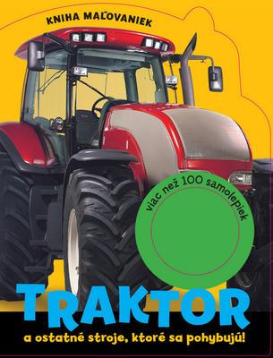 Obrázok Traktor a ostatné stroje, ktoré sa pohybujú!