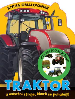 Obrázok Traktor Kniha omalovánek