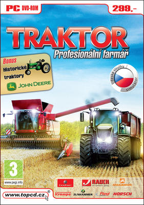 Obrázok Traktor Profesionální farmář