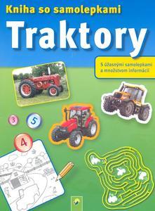 Obrázok Traktory Kniha so samolepkami