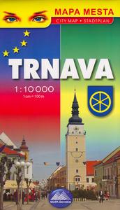 Obrázok Trnava - mapa mesta