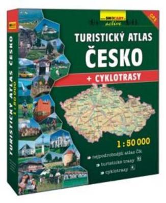 Obrázok Turistický atlas Česko + cyklotrasy 1:50 000