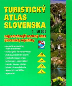 Obrázok Turistický atlas Slovenska 1 : 50 000