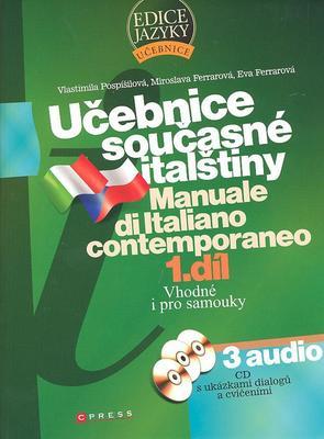 Obrázok Učebnice současné italštiny 1. díl + 3 CD