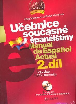 Obrázok Učebnice současné španělštiny 2.díl + 3 CD