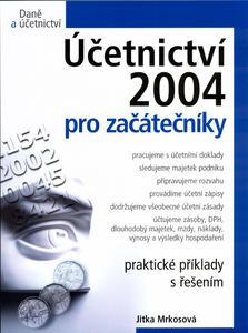 Obrázok Účetnictví 2004 pro začátečníky