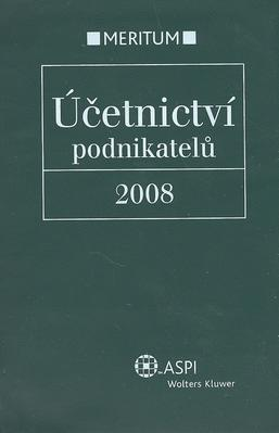 Obrázok Účetnictví podnikatelů 2008