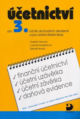 Obrázok Účetnictví pro 3.ročník obchodních akademií a pro ostatní střední školy