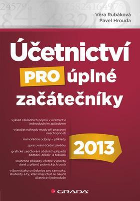 Obrázok Účetnictví pro úplné začátečníky 2013
