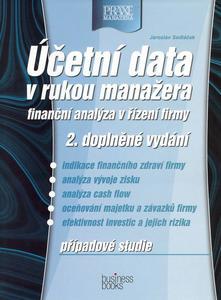 Obrázok Účetní data v rukou manažera