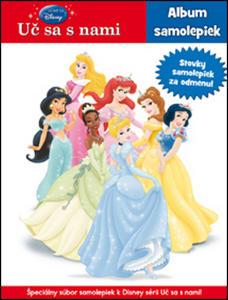 Obrázok Uč sa s námi Princezny so samolepkami