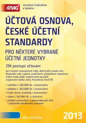 Obrázok Účtová osnova, České účetní standardy 2013