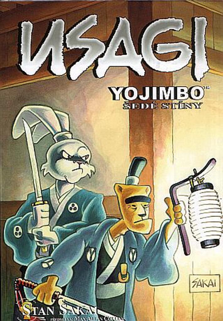 Usagi Yojimbo Šedé stíny - Stan Sakai
