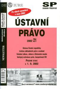 Obrázok Ústavní právo právní stav k 1.9.2002