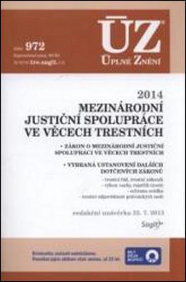 Obrázok ÚZ 1007 Mezinárodní justiční spolupráce ve věcech trestních
