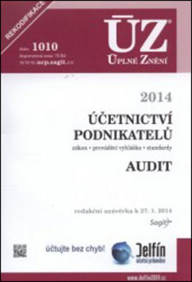 Obrázok ÚZ 1010 Účetnictví podnikatelů