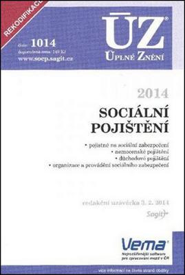 Obrázok ÚZ 1014 Sociální pojištění 2014