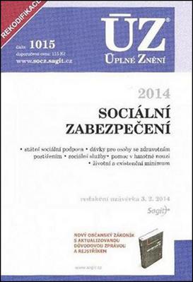 Obrázok ÚZ 1015 Sociální zabezpečení 2014