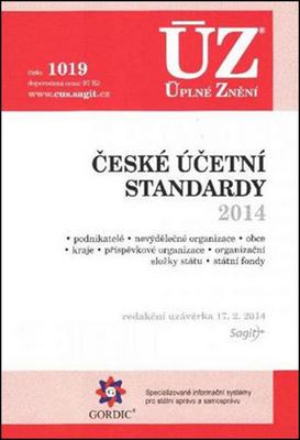 Obrázok ÚZ 1019 České účetní standardy 2014