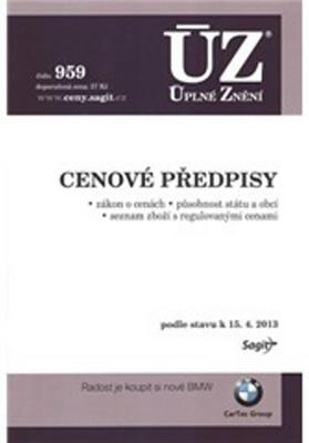 Obrázok ÚZ 1024 Cenové předpisy