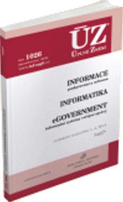 Obrázok ÚZ 1026 Informace, informatika, eGovernment
