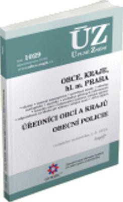Obrázok ÚZ 1029 Obce, kraje, hl. m. Praha, úředníci obcí a krajů, obecní policie
