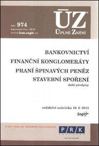 Obrázok ÚZ 974 Bankovnictví